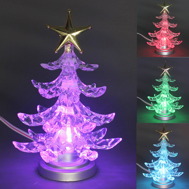 novelty miniature colorful christmas tree shape color. Black Bedroom Furniture Sets. Home Design Ideas