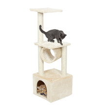Domestic Delivery Cat Toy Scratching Wood Climbing Tree Cat Jumping Toy with Ladder Climbing Frame Cat Furniture Scratching Post(China (Mainland))