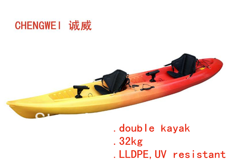 Sales promotion double sit on kayak fishing kayak for Sit on vs sit in kayak for fishing