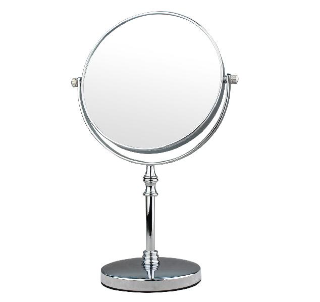 double faced desktop makeup mirror folding cosmetic mirror
