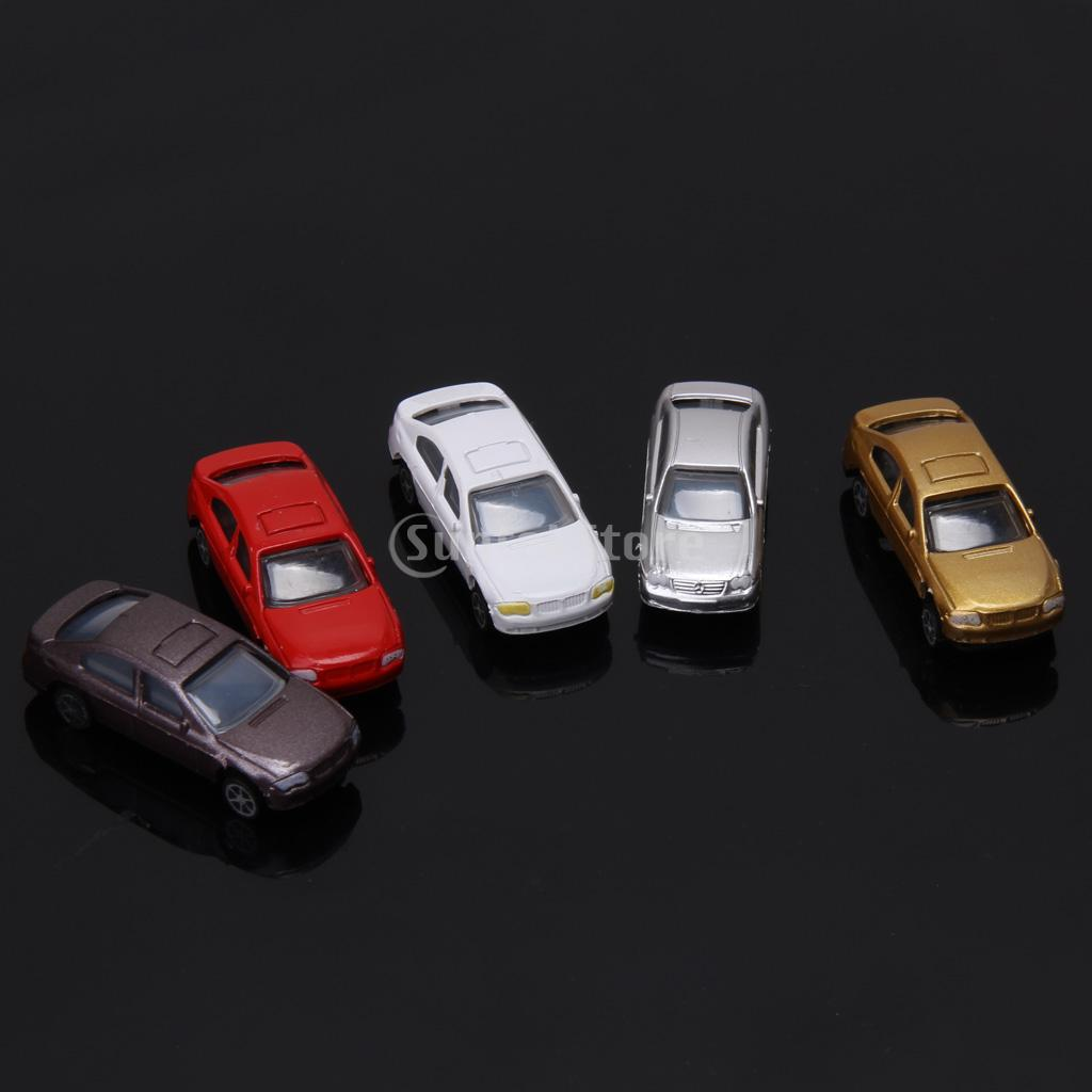 Free Shipping 100pcs Painted Model Cars Building Train Layout Scale HO (1 to 100) CB100-3(China (Mainland))