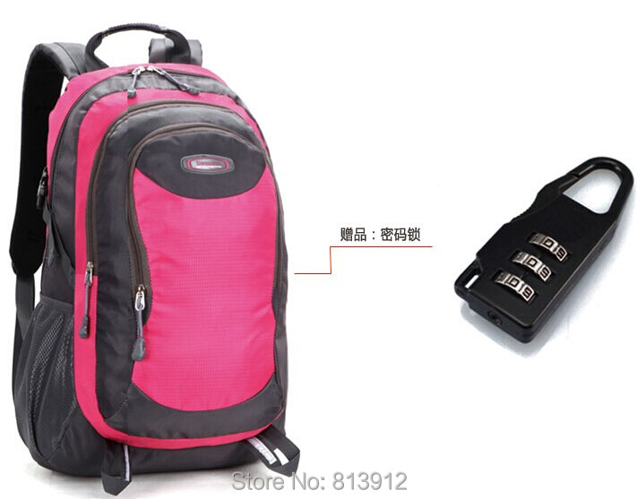 Travel backpack female large capacity mountaineering bag outdoor sports casual male fashion women's travel - Walker Chow's Store store