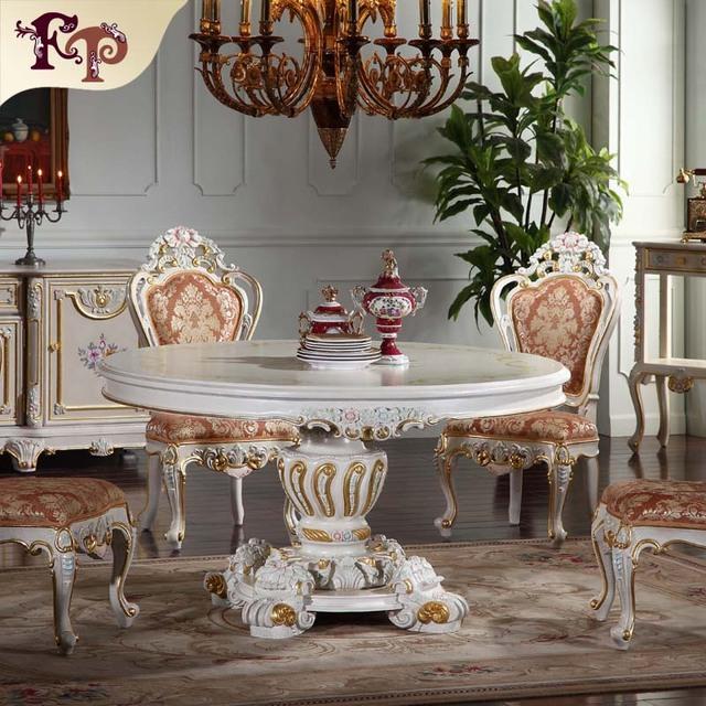 hand carved home furniture - dinging room furniture