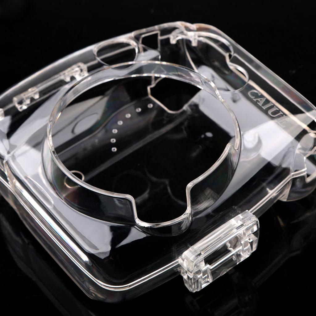 Clear Hard Case Protector Cover Camera Bag Protective for Fujifilm Instax Mini 8/9 Mini Camera 8/Mini8+/9 Instant Film Cameras