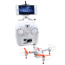 Free Shipping Cheerson CX-30W 2.4GHz 4CH 6-Axis Gyro WiFi Real Time Video RC Quadcopter UFO FPV with Transmitter 0.3MP HD Camera