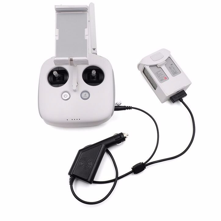 DJI Phantom 4 Car Charger for Battery & Remote Controller Charging Accessories