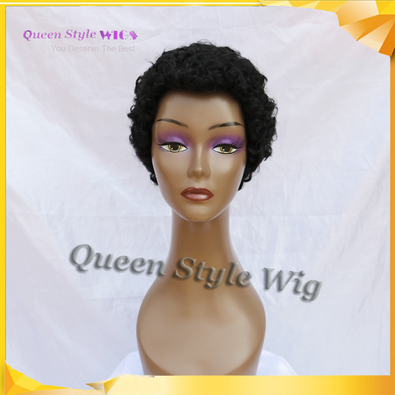 Black People Wig 45