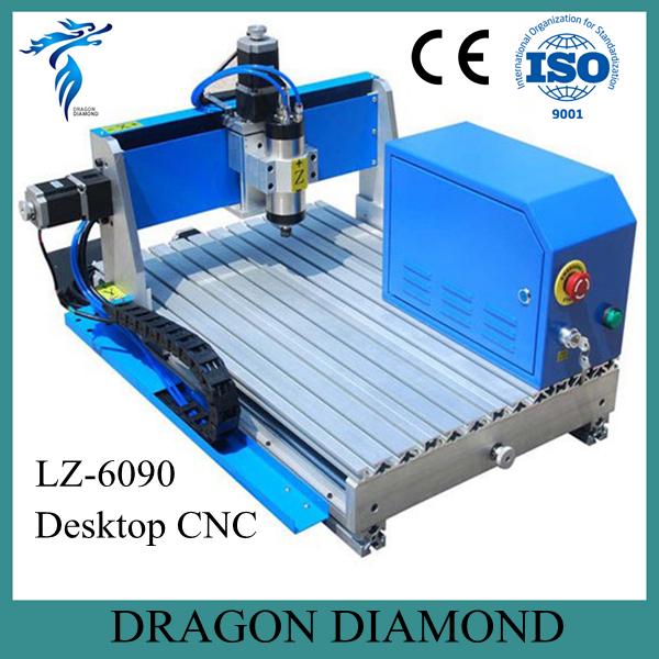 Professional Advertising Signs CNC Engraver Machine Desktop Mini CNC Router LZ-6090(China (Mainland))