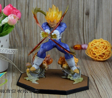 Anime Dragon Ball Z Super Saiyan Vegeta Battle State Final Flash PVC Action Figure Collectible Model Toy 15CM