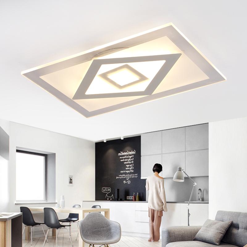 modern led ceiling lights for Indoor lighting plafon led ceiling lamp lighting fixtures for living bedroom lamparas de techo(China (Mainland))