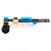 50PCS/LOT Original Genuine Black White Earphone Headphone Audio Jack Flex Cable For iPad Mini 2/3 Ship By DHL EMS