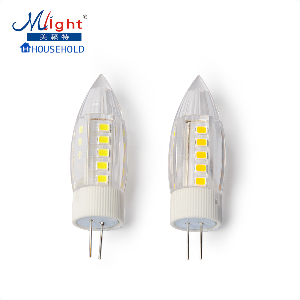 5pcs AC/DC 12V 5W 5W 2835 LED Light Bulb High Quality Ceramic LED G4 Lamp Bulb Replace Halogen G4 for Chandelier Ceiling Light(China (Mainland))