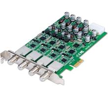 GENIATECH PCI Express Quad DVB-S2 TV Card X9320 4-Tuner input PCIe 4way HD digital TV card DVB-S2 atellite signal receiver(China (Mainland))