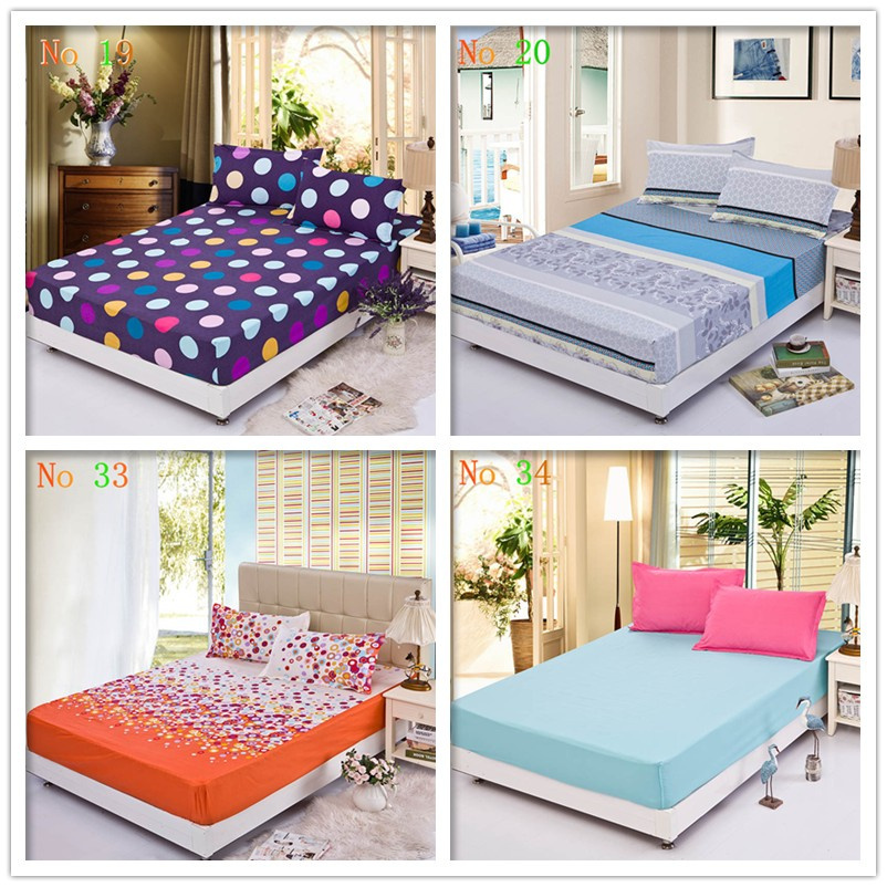 Hot Sale Bedding Set Family Cotton Bed Fitted Cover Set 3 Pcs Full Queen King Size Mattress