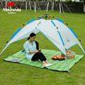 Naturehike 3 4 Person 210 180 120cm Pop Up Tent Double Automatic Tent Camping Tent Quick