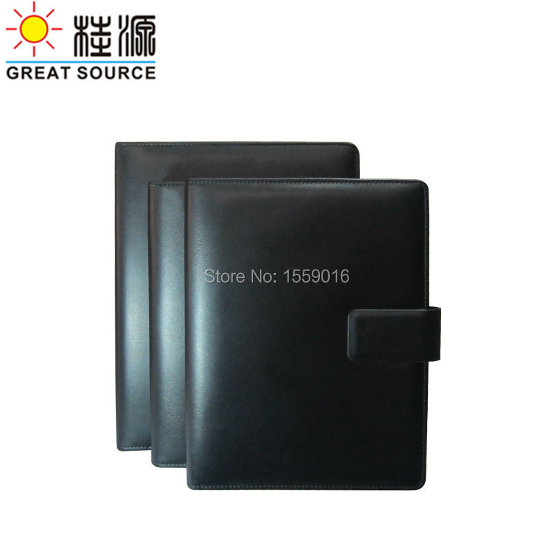 2015 Fancy leather ring binder notebook<br><br>Aliexpress