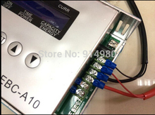 EBC A10electronic load mobile power battery capacity tester charge and discharge cycle for lead acid lithium