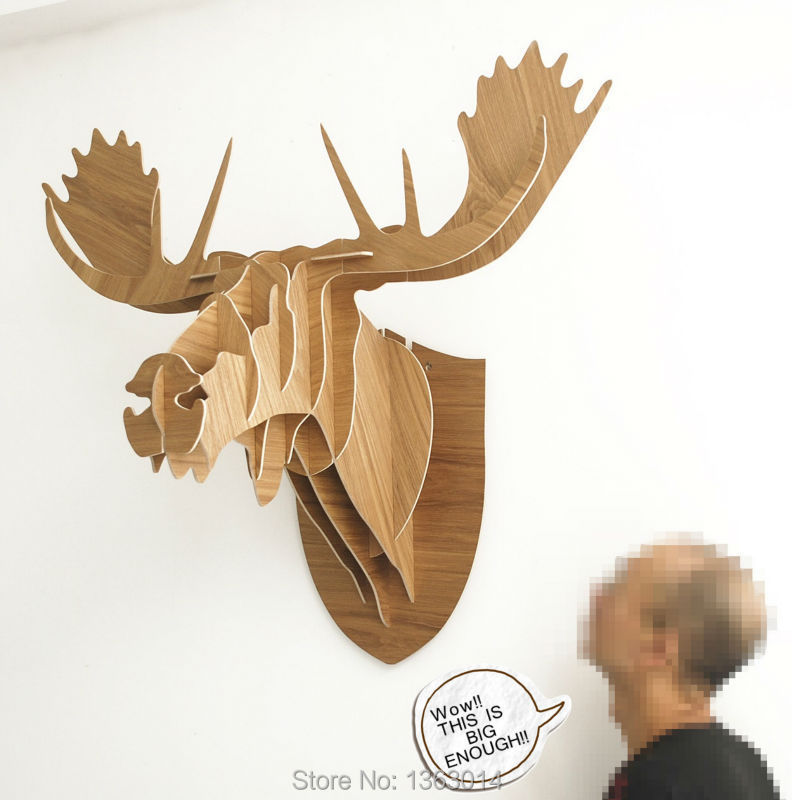 J&E J & E high/End 96 ! J & E high/End 96cm Huge Moose head цены онлайн