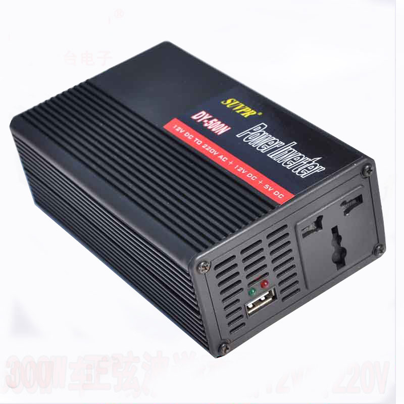 Car inverter SUVPR car carries inverter power 500 w DC12V - AC220V Free shipping(China (Mainland))