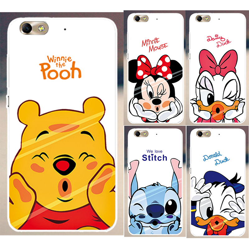 High quality Mickey Mouse Donald Duck Cartoon Painted PC Hood Phone Cases For Huawei Honor 4C Honor4C case cover skin shell(China (Mainland))