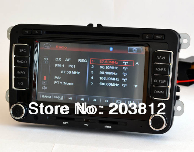 2006- 2011 VW Golf5/ 6 Multimedia Navi GPS DVD System, Radio-Free GPS map+rearview camera!!!