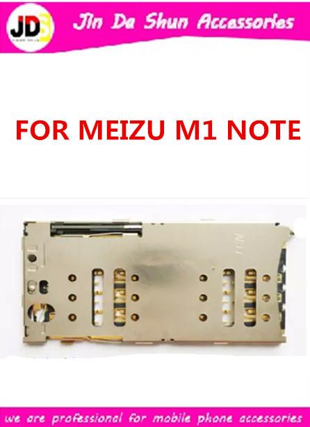 10PCS/LOT For Meizu M1 Note M463M M463U MEI LAN NOTE SIM Card + SD Card Sim Card Reader Holder Slot Tray Free Shipping(China (Mainland))