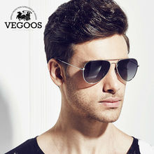 VEGOOS Brand Designer Men Sunglasses Pilot Aviation Gradient Lenses Eyewear For Men's Unisex Sun Glasses #3025