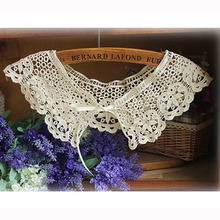 Hot Sale Women s Fashion Crochet Hollow Lace Detachable Collar Lace Fake Collar WF 5232 FREE