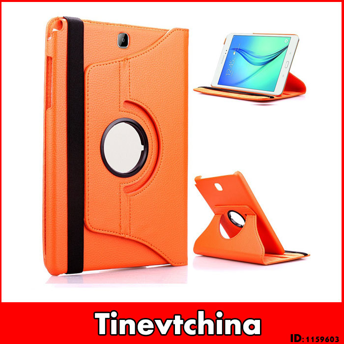 30 Pc/lot PU Leather 360 Rotating Case Smart Magnetic Case 8.0 Inch For Samsung Galaxy Tab A 8.0 T350 T351 T355 Multi-Color<br>