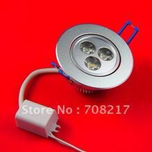 FREE SHIPPING 9W  LED downlight (equivalent 50W halogen light)(China (Mainland))