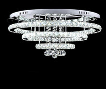 lustre Surface Mount LED Ceiling Light Round White LED Ceiling Lamp For Foyer Kitchen Living room with remote segment lighting(China (Mainland))