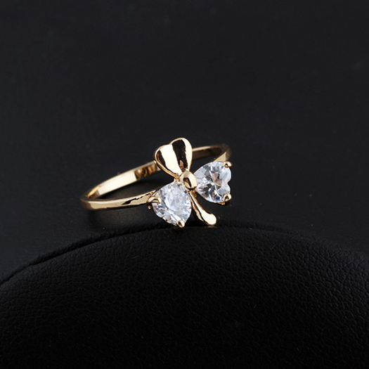 rings page rose clover society art category ring youth gold product jewelry
