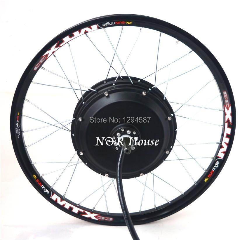 48v 96v 3kw Electric Bike Motor Wheel Suitable For
