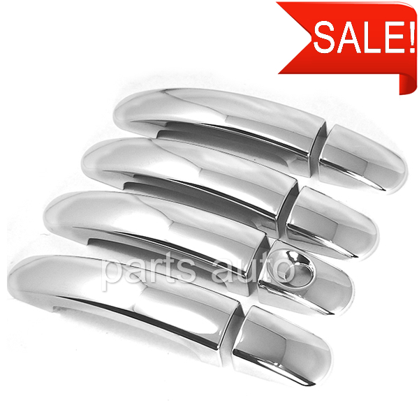 8x for Ford for Focus Falcon sedan chrome door handle cover TRIM