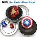 Hand Spinner Marvel America Captain Toy Finger Spinner Metal Aluminum Alloy Ironman Fidget Spinner Anti Relieve