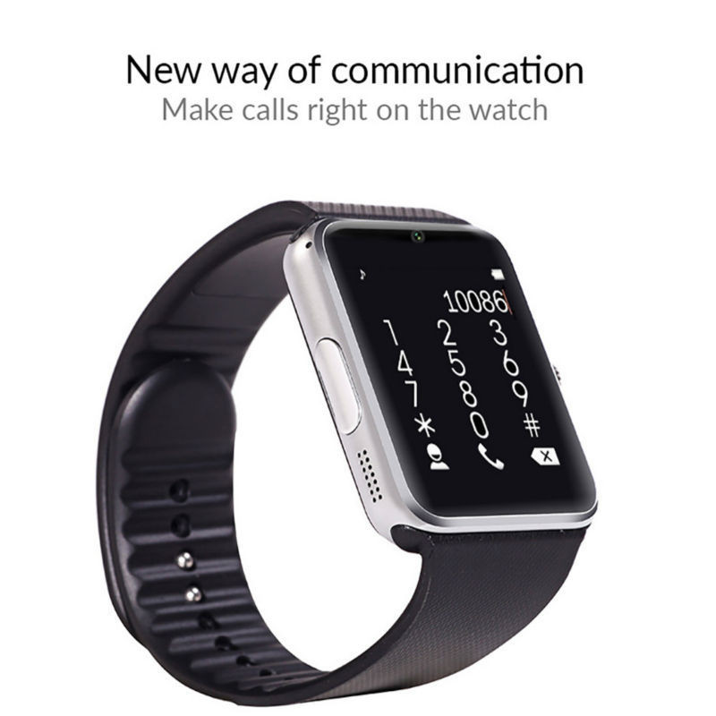 image for 2016 Newest Hot Sale Smart Watch GT08 Clock Sync Notifier Support SIM