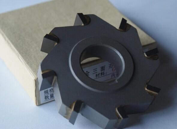 Inlaid alloy three-blade cutter / blade 110X5 6/8/10/12/14/16/18