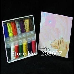 Freeshipping Manicure Tool Nail Painting Acrylic Nail Painting Professional 14 Colors Nail Art Painting DIY Design Tool