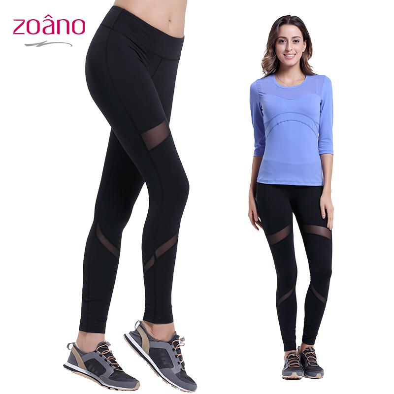 Zoano Autumn Winter New Arrivals Yoga Pants Women Fashion Breathable Comfortable Women's Sports Pants Tights,Size S-XL,CK52026