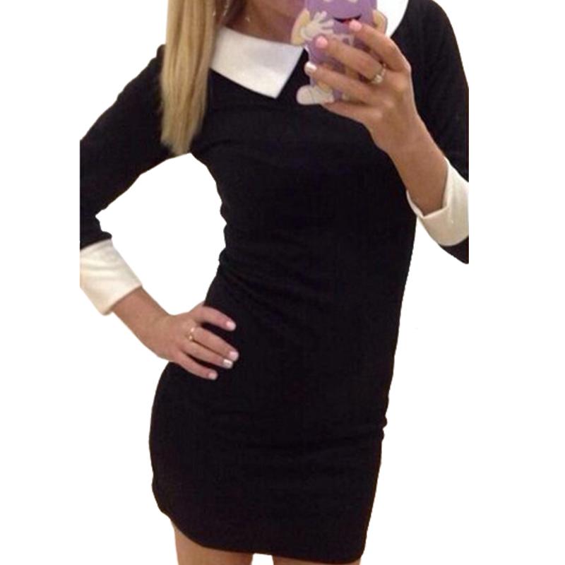Женское платье мини фото