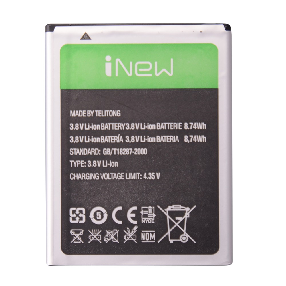 Inew v3 Battery 100% Original High Quality 2300mAh Li-ion Replacement For inew v3 Smart Phone Battery Batteries