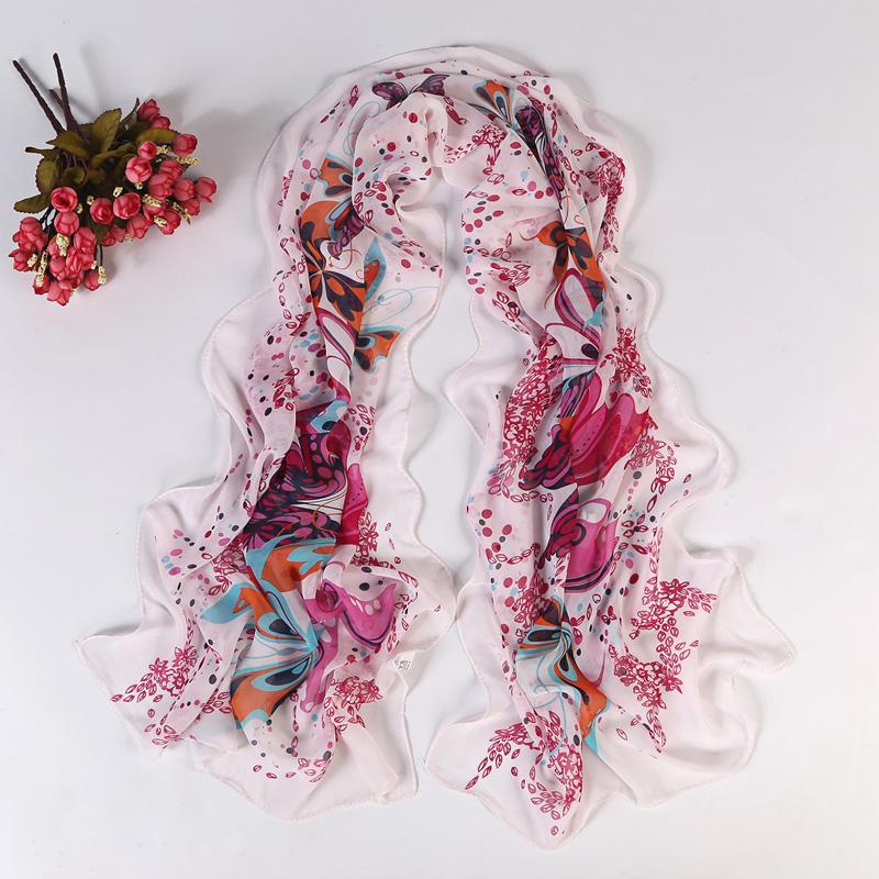 chiffon scarf 2014 fashion women summer spring Accessories scarf pashmina floral shawl cape silk tippet muffler YN-121(China (Mainland))