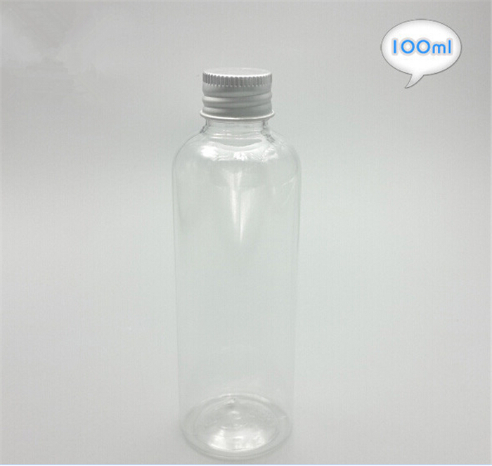 Free Shipping 100ml Plastic Empty Cosmetic Cream Packaging Container Travel Shampoo Body Lotion Bottles(China (Mainland))