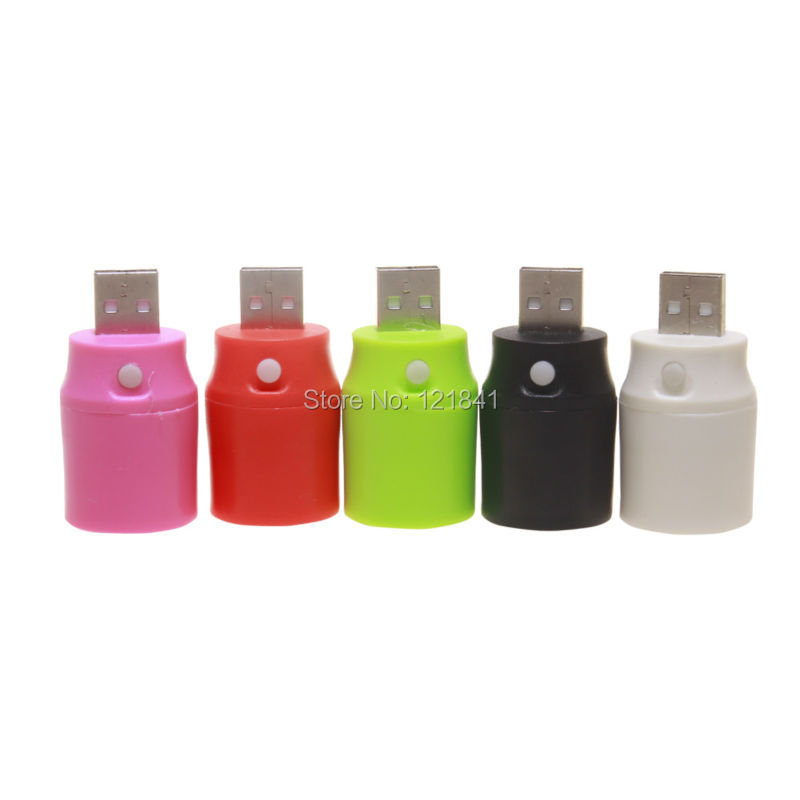 5pcs Mini portable Colorful External Power Supply USB LED Torch Flashlight USB Emergency Power Lamp Light(China (Mainland))