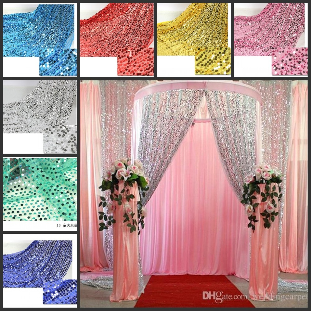 Curtains Wedding Decoration Compare Prices On Fabric Wedding Curtains Online Shopping Buy Low