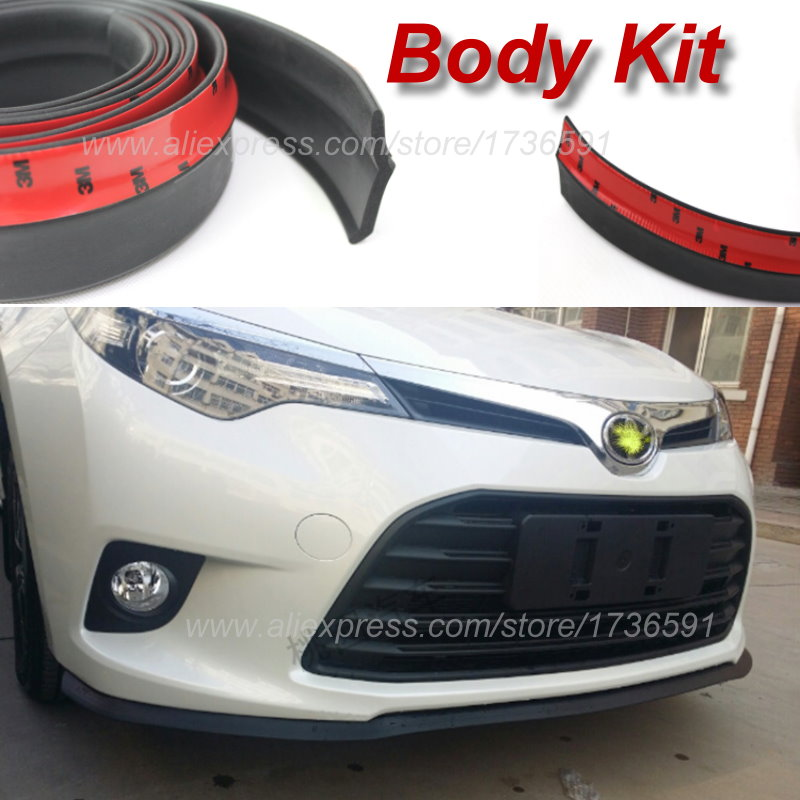Car Body Front Side Back Bumper Spoilers Lip Lips For TOYOTA Camry Solara Mark V / For Car Tuning / Body Chassis Side Protection<br><br>Aliexpress