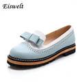 Spring Autumn Slip On Round Toe Flat Women Shoes Mixed Color Lace Shallow Mouth PU Soft