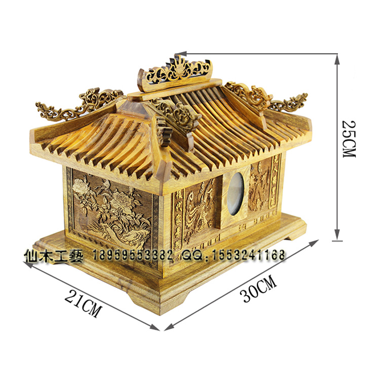 Ssangyong palace eaves life case casket coffin bone cup double for men and women in Sichuan gold Phoebe Buddhist funeral(China (Mainland))