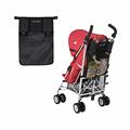 New Maclaren Black Baby Stroller Cup Bag Organizer Rear Bag Rear Hanging Bags Baby Carriage Pram