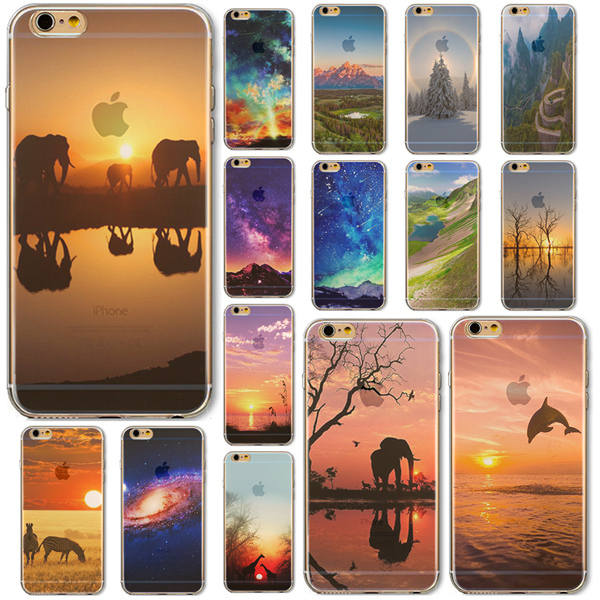 Free Shipping for Apple Phone 6 4.7'' Cases Cover Ultra Thin Transparent Mobile Phone Bag Protective Soft TPU Phone Accessories(China (Mainland))